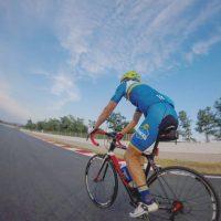 Circuito de Montmeló en bicicleta